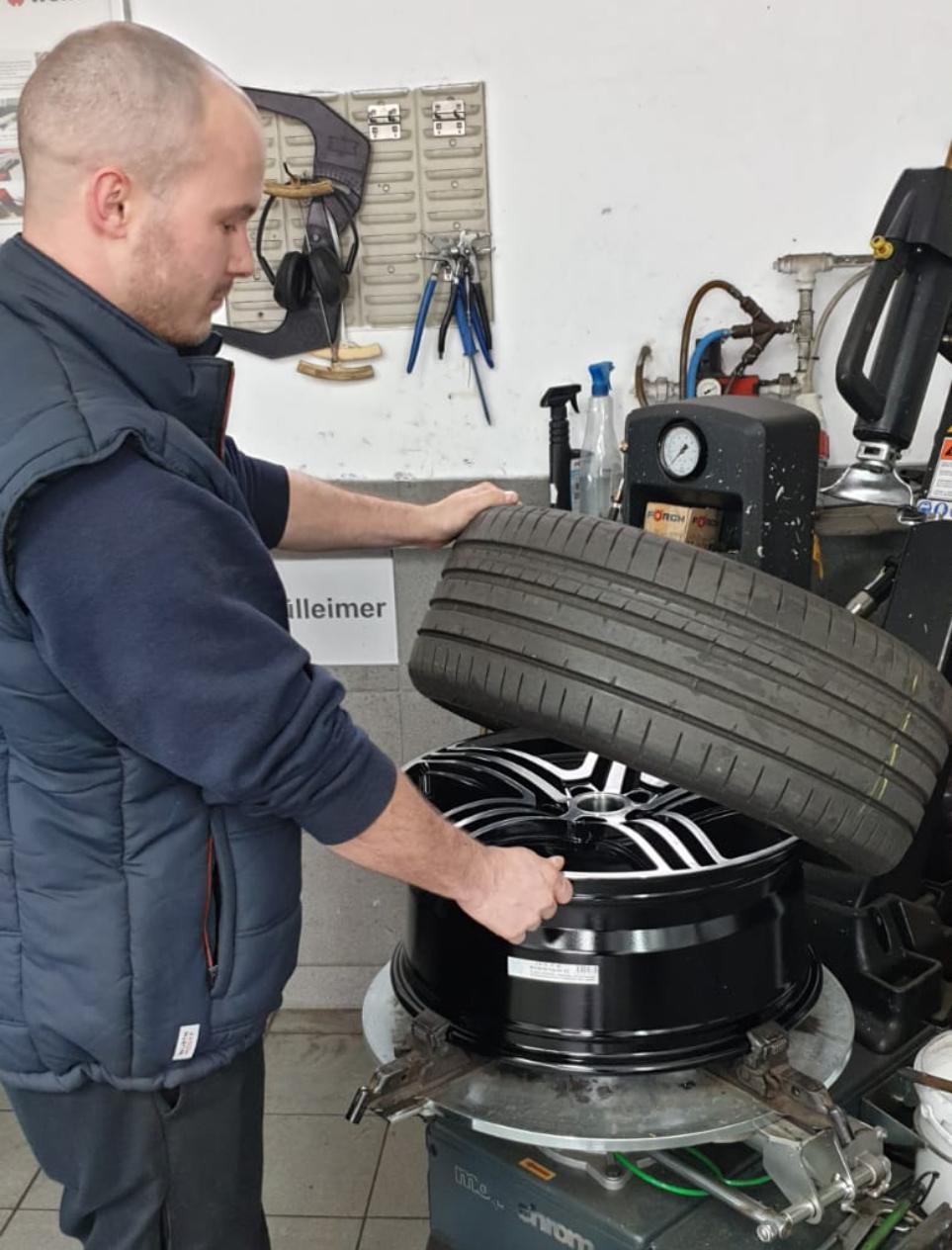 Autohilfe Thüringen Räderwechsel